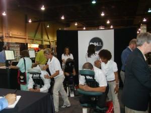 Dell Chair Masseuse Sponsorship